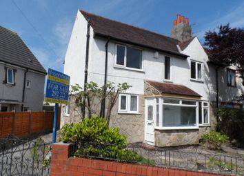 Thumbnail 3 bedroom semi-detached house for sale in Park Road, Blackpool