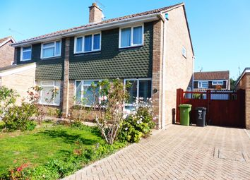 Thumbnail 3 bed semi-detached house for sale in Grailey Close, Swindon