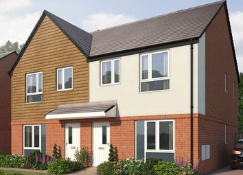 Thumbnail 3 bedroom semi-detached house for sale in The Holmewood, Tibbington Terrace, Tipton