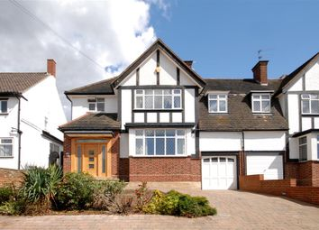 Thumbnail 4 bedroom semi-detached house for sale in Raleigh Drive, Whetstone, London