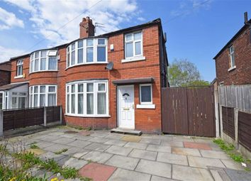 Thumbnail 3 bed semi-detached house for sale in Leighbrook Road, Fallowfield, Manchester