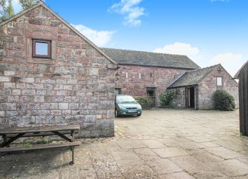 Thumbnail 4 bed barn conversion to rent in Green Lane, Rudyard, Staffordshire
