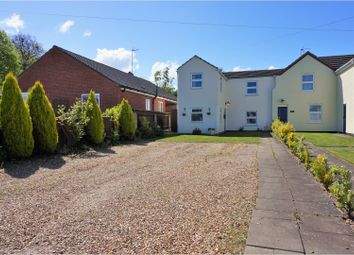 Thumbnail 3 bedroom semi-detached house for sale in The Barracks, Gorefield, Wisbech