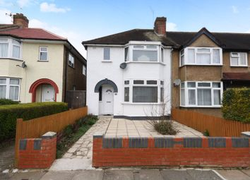 Thumbnail 3 bed end terrace house for sale in Verulam Road, Greenford