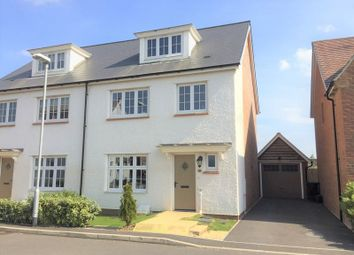 Thumbnail 4 bed semi-detached house for sale in Schofield Close, Bathpool, Taunton