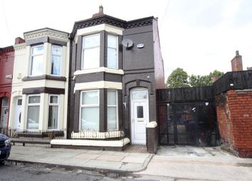 Thumbnail 3 bed end terrace house to rent in Braddan Avenue, Tuebrook, Liverpool