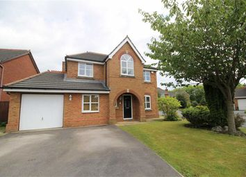 Thumbnail 4 bed detached house for sale in Bude Close, Cottam, Preston
