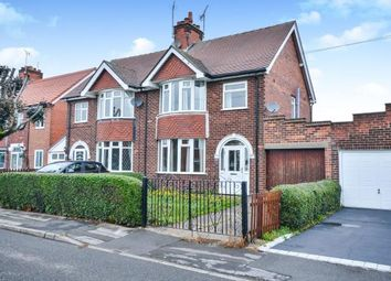 Thumbnail 3 bed semi-detached house for sale in Beechdale Avenue, Sutton-In-Ashfield, Nottinghamshire, Notts