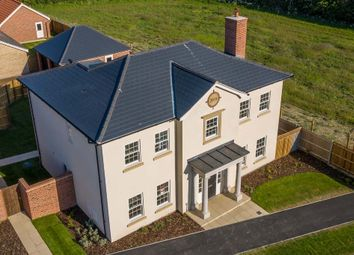 Thumbnail 4 bed detached house for sale in Nightjar Road, Holt