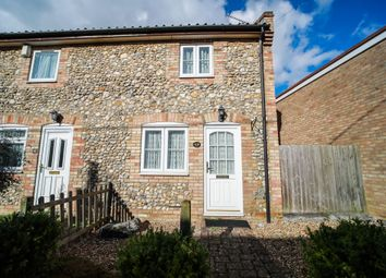 Thumbnail 2 bed end terrace house for sale in Anchor Lane, Lakenheath, Brandon