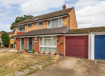 Thumbnail 3 bed semi-detached house for sale in Avon Close, Addlestone