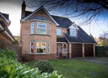 Thumbnail 4 bed detached house for sale in Hawthorn Drive, Uppingham, Oakham