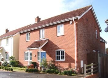 Thumbnail 4 bed detached house for sale in Cullcott Close, Yoxford, Saxmundham