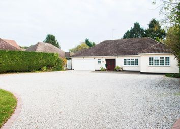 Thumbnail 4 bed detached bungalow for sale in Impressive Plot, Hook End, Brentwood