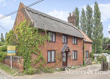 Thumbnail 3 bed detached house for sale in Pedham Road, Hemblington, Norwich