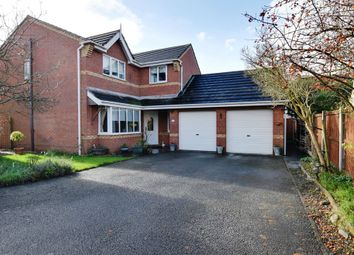 Thumbnail 4 bed detached house for sale in Rookery Close, Ettiley Heath, Sandbach, Cheshire