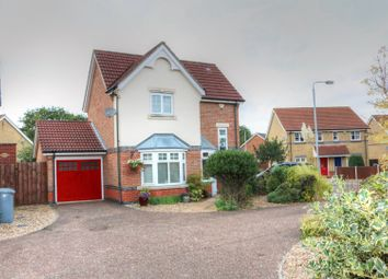 Thumbnail 3 bed detached house for sale in Barleyfield Road, Horsford