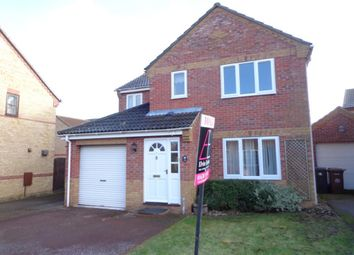 Thumbnail 4 bedroom detached house to rent in Charles Melrose Close, Mildenhall