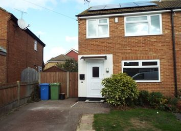 Thumbnail 2 bed semi-detached house to rent in Springvale, Iwade, Sitingbourne