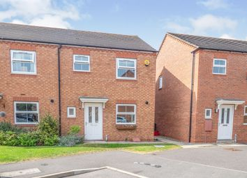 Thumbnail 3 bed semi-detached house for sale in Priors Grove Close, Chase Meadow Square, Warwick