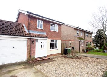 Thumbnail 3 bed link-detached house for sale in Millway, Wymondham