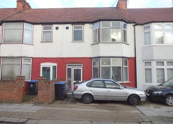 Thumbnail 4 bed terraced house to rent in Thurlow Gardens, Wembley, Middlesex