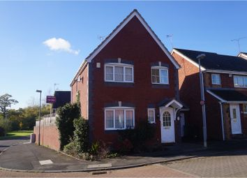 Thumbnail 3 bed detached house for sale in Cleobury Close, Redditch