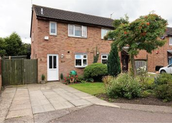 Thumbnail 3 bedroom semi-detached house for sale in Castle Fields, Leicester