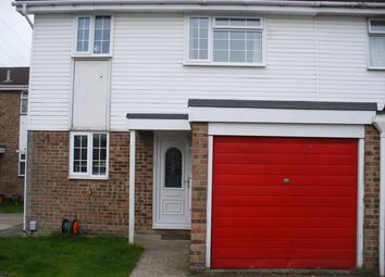 Thumbnail 3 bed semi-detached house to rent in Brookdene, Haydonwick, Swindon