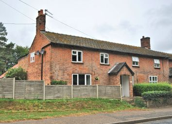 Thumbnail 4 bed semi-detached house for sale in Station Road, Hillington, King's Lynn