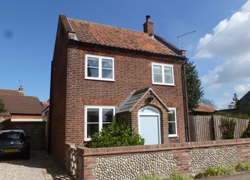 Thumbnail 2 bedroom detached house for sale in The Street, Bodham, Holt