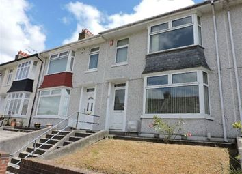 Thumbnail 3 bed terraced house to rent in Fullerton Road, Stoke, Plymouth