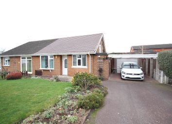 Thumbnail 2 bed semi-detached bungalow for sale in The Green, Findern, Derby