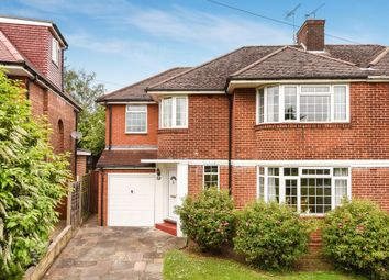 Thumbnail 4 bed semi-detached house for sale in Parsons Crescent, Edgware