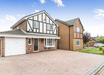 Thumbnail 3 bed detached house for sale in Richardson Close, Freckleton, Preston