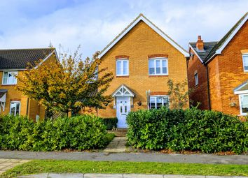 Thumbnail 4 bed link-detached house to rent in Brook Farm Road, Saxmundham