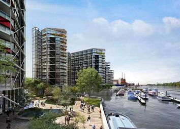 Thumbnail 3 bed flat to rent in Riverlight Quay, Nine Elms, London