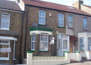 Thumbnail 3 bed terraced house for sale in Hengist Avenue, Margate