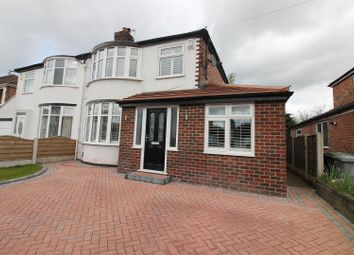 Thumbnail 3 bed property for sale in Wallingford Road, Urmston, Manchester