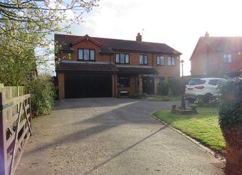 Thumbnail 4 bed detached house for sale in Little Holme Road, Walpole Cross Keys, King's Lynn