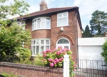 Thumbnail 3 bed semi-detached house to rent in Westholme Road, Manchester