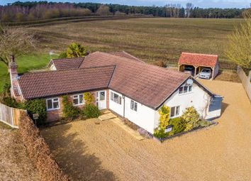 Thumbnail 5 bed detached bungalow for sale in Swaffham Road, Ickburgh, Thetford