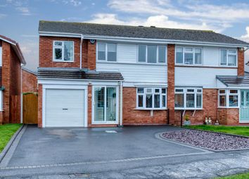 Thumbnail 5 bed semi-detached house for sale in Fulton Close, Harwood Park, Bromsgrove