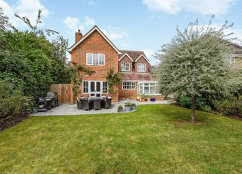 Thumbnail 4 bed detached house for sale in Dean Wood Close, Woodcote, Reading