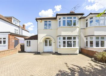 Thumbnail 3 bed semi-detached house for sale in Elmhurst Drive, Hornchurch