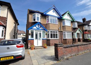 Thumbnail 4 bed semi-detached house for sale in Leyburn Road, Wallasey