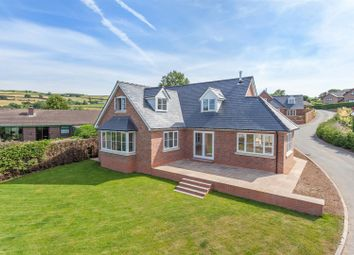 Thumbnail 4 bed detached house for sale in Castle Croft, Llwyn Road, Clun