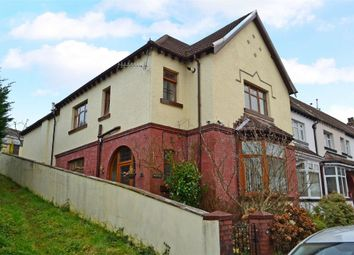 Thumbnail 4 bed end terrace house for sale in Mackintosh Road, Pontypridd, Mid Glamorgan