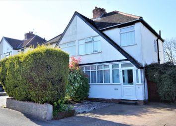 Thumbnail 3 bed semi-detached house for sale in Blackburn Avenue, Wolverhampton
