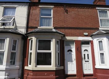 Thumbnail 2 bed terraced house to rent in Glentworth Road, Nottingham